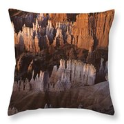 Bryce Canyon National Park Hoodo Monoliths Sunrise Southern Utah Throw Pillow
