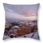 Bryce Canyon National Park Utah Throw Pillow