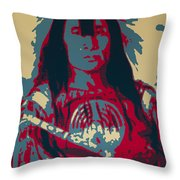 Buffalo Bull's Back Fat Throw Pillow