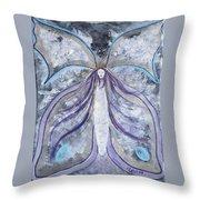 Butterfly Goddess Throw Pillow
