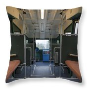 Cable Railway Throw Pillow