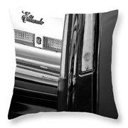 Cadillac Eldorado Taillights Throw Pillow