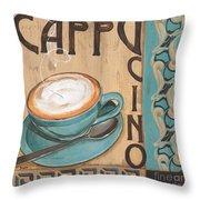 Cafe Nouveau 1 Throw Pillow