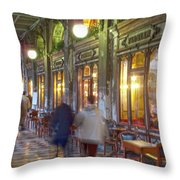 Caffe Florian Arcade Throw Pillow