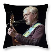 Canadian Folk Rocker Bruce Cockburn Throw Pillow
