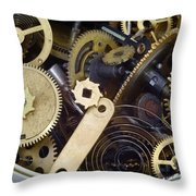 Canned Time Throw Pillow