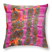 Cardiac Muscle, Tem Throw Pillow