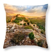 Castle Nimrod Throw Pillow