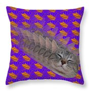 Cat Trip Pop 002 Limited Throw Pillow