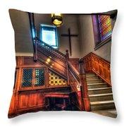 Central Presbyterian Church Throw Pillow