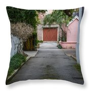 Charleston Alley Throw Pillow