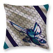 Charlotte Hornets Uniform Throw Pillow