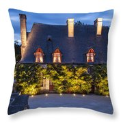 Chateau Chenonceau Throw Pillow