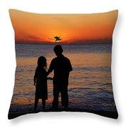 Cherish The Moment Throw Pillow