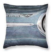 Chevrolet Corvair Emblem Throw Pillow
