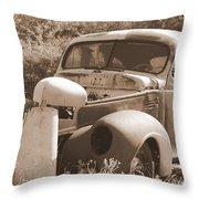 Chevrolet Rust Bucket Throw Pillow