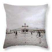 San Cristobal De Las Casas Throw Pillow