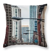 Chicago Architecture Throw Pillow