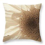 Chipmunk's Peredovik Sunflower Throw Pillow