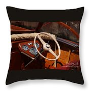 Chris Craft Sea Skiff Throw Pillow