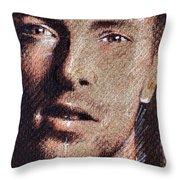 Chris Martin - Coldplay Throw Pillow