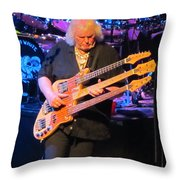 Chris Squire Of Yes Throw Pillow