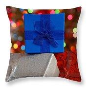 Christmas Gifts Throw Pillow
