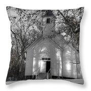 Church In The Cove Throw Pillow