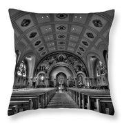 Church Of Saint Bernard Throw Pillow