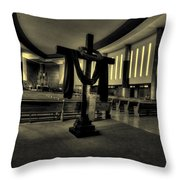 Church Of Saint Columba Throw Pillow