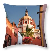 Church Of San Rafael Throw Pillow