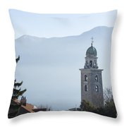 Church Tower Throw Pillow