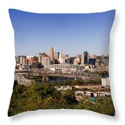 Cincinnati, Ohio Throw Pillow