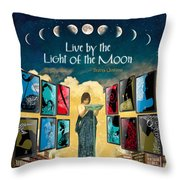 The New Learning Temple With Circe Throw Pillow