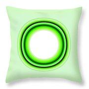 Circle Motif 145 Throw Pillow