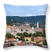 City Of Budapest Throw Pillow