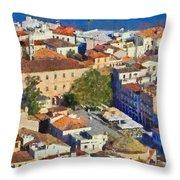 City Of Nafplio Throw Pillow