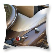 Classic Antique Car- Detail Throw Pillow