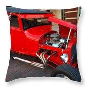 Classic Custom Hotrod Throw Pillow