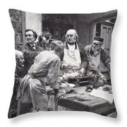 Claude Bernard (1813-1878) Throw Pillow