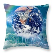 Climate Change- Throw Pillow