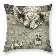 From The Grave Throw Pillow
