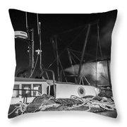 Cockenzie Harbour Throw Pillow