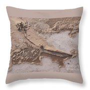 Cold Blew The Wind Throw Pillow