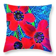 Color 1 Throw Pillow