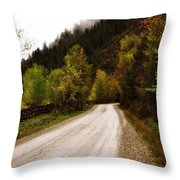 Colors Of Fall Series Zz Throw Pillow
