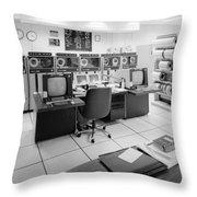 Computer Room, 1999 Throw Pillow