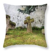 Conciliation Cross Throw Pillow