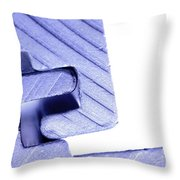 Connecting Tools Throw Pillow by Michal Bednarek