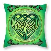Connolly Soul Of Ireland Throw Pillow